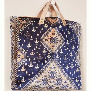 Anthro Lalla Marrakech Souk Carpet Tote Bag